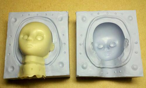 树脂模具硅胶翻模